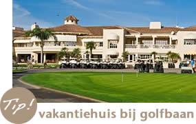 Vakantiehuis bij een golfbaan